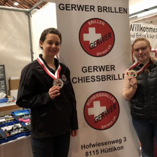 Nina Christen 1.Platz & Petra Lustenberger 2. Platz